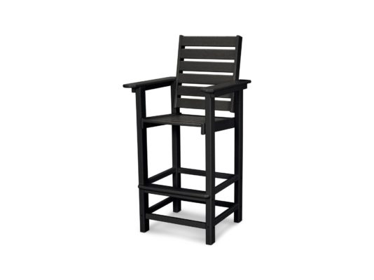 plastic outdoor bar chair
