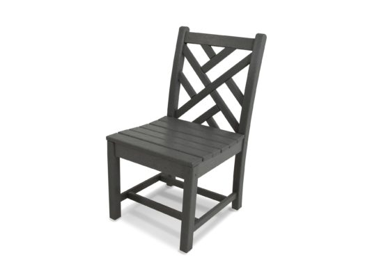 recycled plastic lumber dining chair