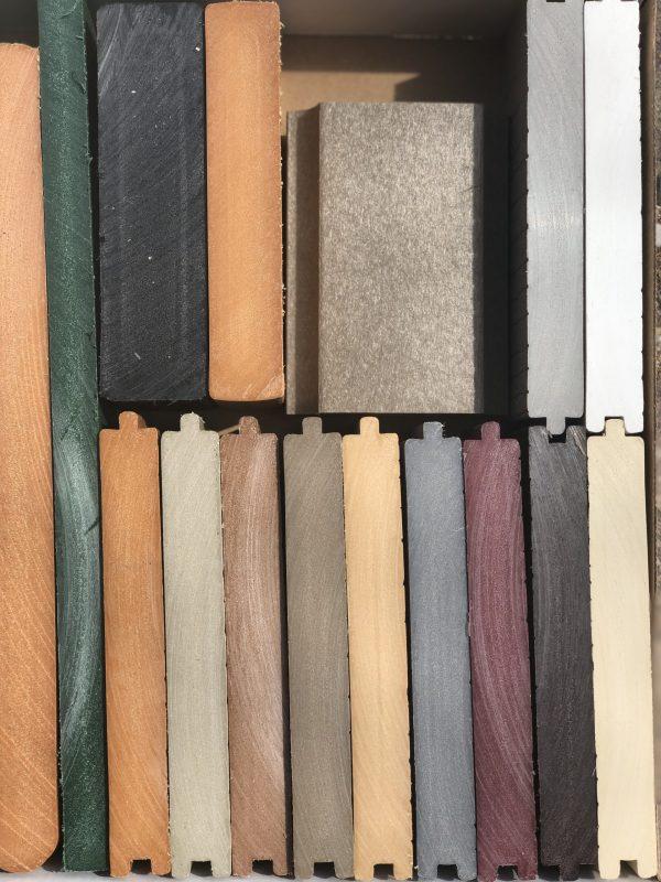 Premium Grade Plastic Lumber Samples