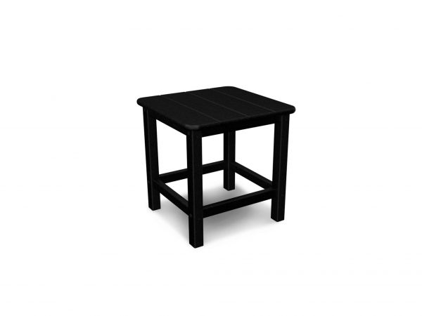 side table made from recycled plastic