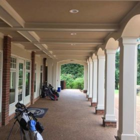Vinyl Columns at golf club
