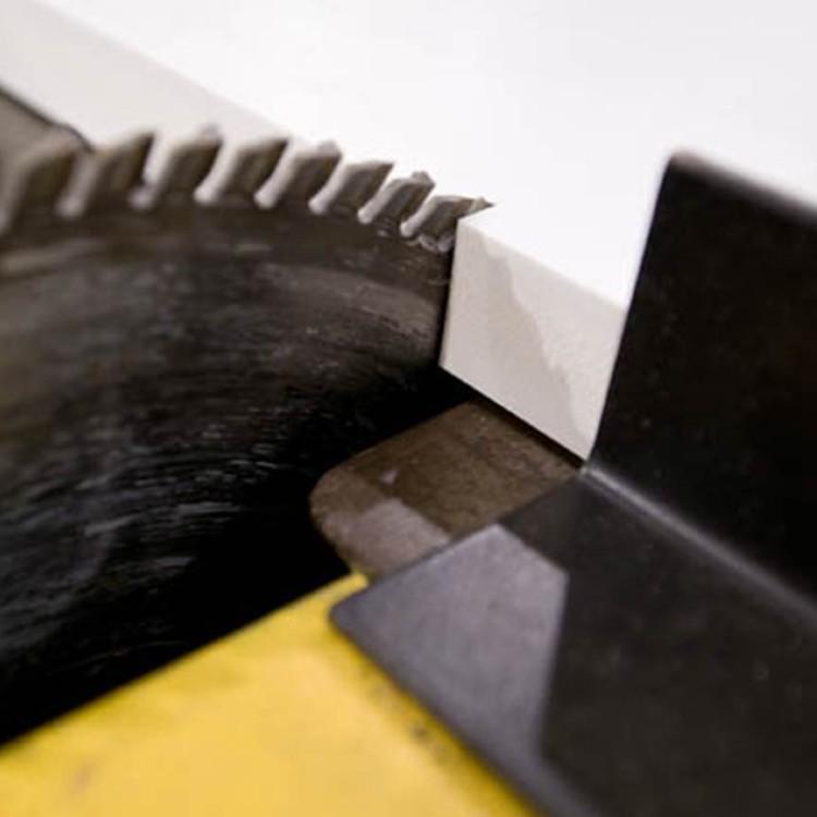 saw cutting graphic board
