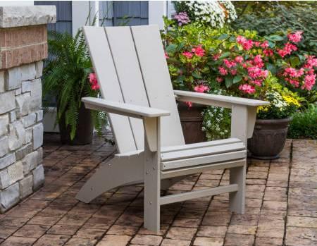adirondack chair made from plastic lumber
